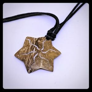 Coconut starfish necklace - H2